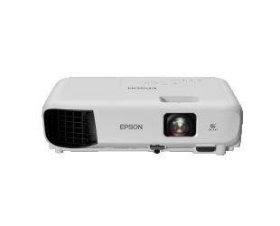 Projektorius Epson 3LCD XGA Projector EB-E10 XGA (1024x768), 3600 ANSI lumens, White