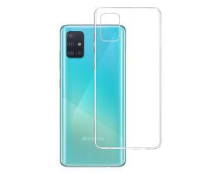 Dėklas 3MK Case, Samsung, Galaxy A51, Flexible TPU, Clear