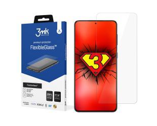 Ekrano apsauga 3MK FlexibleGlass Samsung, Galaxy S21, Hybrid glass, Clear Screen Protector