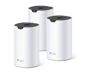 Maršrutizatorius TP-LINK Whole Home Mesh Wi-Fi System Deco S4 (3-Pack) 802.11ac, 300+867 Mbit/s, 10/100/1000 Mbit/s, Ethernet LAN (RJ-45) ports 2, Mesh Support Yes, MU-MiMO Yes, Antenna type 2xInternal