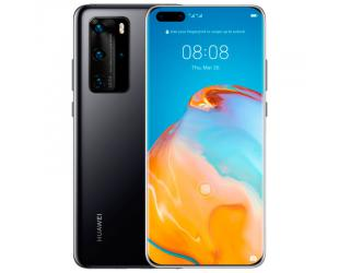 "Mobilus telefonas Huawei P40 Pro Black, 6.58 "", OLED, 1200 x 2640 pixels, Kirin 990 5G, Internal RAM 8 GB, 256 GB, NM (Nano Memory), Dual SIM, Nano-SIM, 3G, 4G, 5G, Main camera Triple 50+12+40 MP, Secondary camera 32 MP, Android, 10, 4200 mAh"