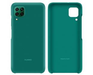 Dėklas Huawei PC Case P40 Lite Back Cover, Polycarbonate, Emerald Green, Protective Cover