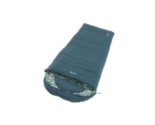 Miegmaišis Outwell Camper L, Sleeping Bag - Left Zipper, 235 x 90 cm, YKK 2-way L-shape open-end with auto lock, Blue