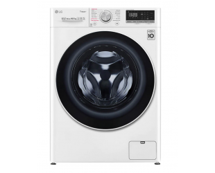 Skalbimo mašina LG Washing machine F4WV510S0E Energy efficiency class E, Front loading, Washing capacity 10.5 kg, 1400 RPM, Depth 56 cm, Width 60 cm, Display, LED, Steam function, Direct drive, Wi-Fi, White