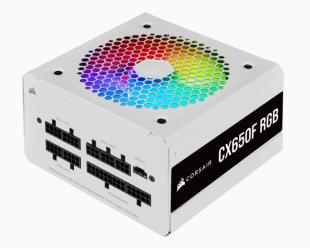Maitinimo blokas Corsair Fully Modular PSU CX Series CX650F RGB 650 W, 80 PLUS BRONZE certified