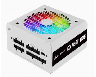 Maitinimo blokas Corsair Fully Modular PSU CX Series CX750F RGB 750 W, 80 PLUS BRONZE certified