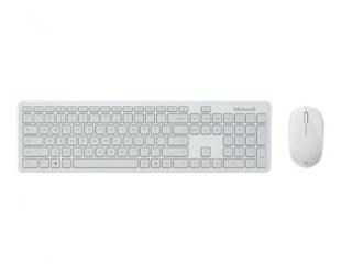 Klaviatūra+pelė Microsoft Keyboard and Mouse ENG BLUETOOTH DESKTOP Standard, Wireless, Keyboard layout EN, Wireless, Glacier, Bluetooth, Wireless connection, Numeric keypad, 461.6 g