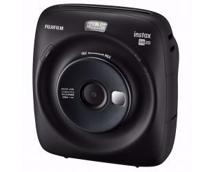 """Momentinis fotoaparatas Fujifilm Instax Square SQ20 3.7 MP, Digital zoom 4x, Video recording, 2.7"""", Instant camera + 10 vnt popieriaus, Black"""