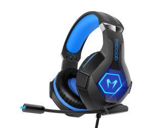 Ausinės Microlab Gaming Headset G7 Built-in microphone, Black/Blue