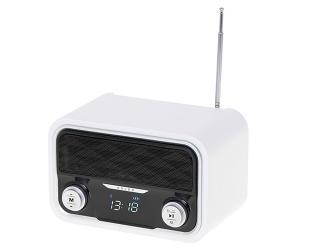 Radijo imtuvas Adler Bluetooth Radio AD 1185 Display LCD, AUX in, White