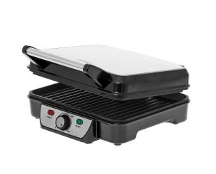 Elektrinis grilis Mesko Grill MS 3050 Contact grill, 1800 W, Black/Stainless steel