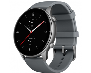 Išmanusis laikrodis Amazfit GTR 2e Smart watch, GPS (satellite), AMOLED Display, Touchscreen, Heart rate monitor, Activity monitoring 24/7, Waterproof, Bluetooth, Slate Grey