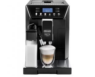Kavos aparatas Delonghi Eletta Cappuccino Evo Coffee Maker ECAM 46.860.B	 Pump pressure 15 bar, Built-in milk frother, Fully Automatic, 1450 W, Black