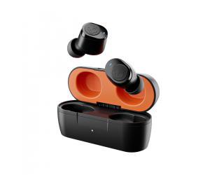 Ausinės Skullcandy Wireless Earbuds Jib True  In-ear, Microphone, Noice canceling, Wireless, True Black/Orange