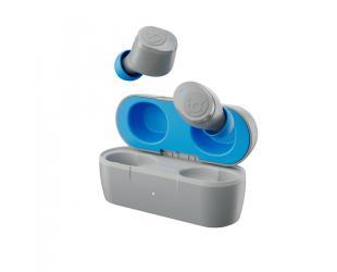 Ausinės Skullcandy Wireless Earbuds Jib True  In-ear, Microphone, Noice canceling, Wireless, Light Grey/Blue