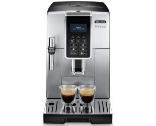 Kavos aparatas Delonghi Coffee Maker Dinamica ECAM 350.35 SB	 Pump pressure 15 bar, Built-in milk frother, Fully Automatic, 1450 W, Silver/Black
