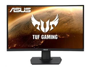 "Monitorius Asus TUF Gaming Curved VG24VQE 24"", VA, FHD, 1920 x 1080 pixels, 16:9, 1 ms, 250 cd/m², Black, 1 x DisplayPort 1.2, 2 x HDMI 2.0"