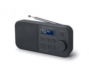 Radijo imtuvas Muse Alarm function, M-109DB, Portable radio, Black