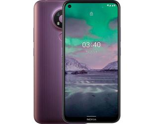 "Mobilus telefonas Nokia 3.4 TA-1283 6.39 "", Purple, IPS LCD, 720 x 1560, Qualcomm SM4250 Snapdragon 460, Dual SIM, Nano-SIM, 4.2, Internal RAM 3 GB, 32 GB, MicroSDXC, 3G, 4G, Main camera 13+5+2 MP, Secondary camera 8 MP, Android, 10.0, 4000 mAh"
