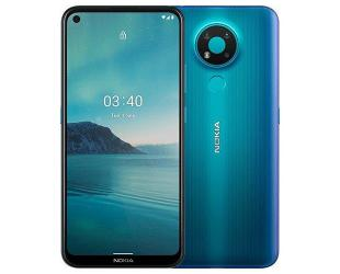"Mobilus telefonas Nokia 3.4 TA-1283 6.39 "", Blue, IPS LCD, 720 x 1560 pixels, Qualcomm SM4250 Snapdragon 460, Dual SIM, Nano-SIM, 4.2, Internal RAM 3 GB, 32 GB, MicroSDXC, 3G, 4G, Main camera 13+5+2 MP, Secondary camera 8 MP, Android, 10.0, 4000 mAh"