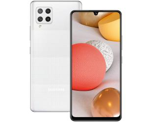 """Mobilus telefonas Samsung Galaxy A42 5G (White) Dual SIM 6.6"""" Super AMOLED 720x1600/2.2GHz&1.8GHz/128GB/4GB RAM/Android 10/WiFi,BT,4G,5G"""