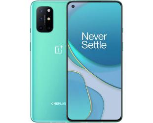 "Mobilus telefonas OnePlus 8T (Aquamarine Green) Dual SIM 6.55"" Fluid AMOLED 1080x2400/2.84GHz&2.42GHz&1.8GHz/256GB/12GB RAM/Android 11/WiFi,BT,4G,5G"