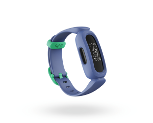 Išmanusis laikrodis Fitbit Ace 3 Fitness tracker, OLED, Touchscreen, Waterproof, Bluetooth, Cosmic Blue/Astro Green