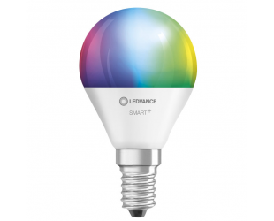 Ledvance SMART+ WiFi Classic Mini Bulb RGBW Multicolour 40 5W 2700-6500K E14