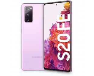 "Mobilus telefonas Samsung Galaxy S20 FE G780 Lavender, 6.5"", Super AMOLED, 1080 x 2400, Exynos 990, Internal RAM 6 GB, 128 GB, MicroSD, Dual SIM, Nano-SIM, 3G, 4G, Main camera 12+12+8 MP, Secondary camera 32 MP, Android, 10, 4500 mAh"