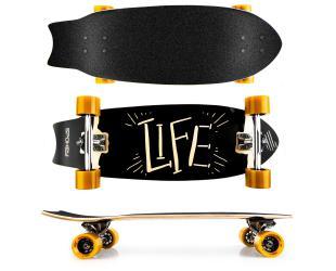 Riedlentė Spokey Skateboard LIFE
