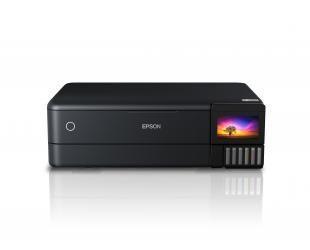 Rašalinis daugiafunkcinis spausdintuvas Epson Multifunctional Printer EcoTank L8180 Colour, Inkjet, A4, Wi-Fi, Black