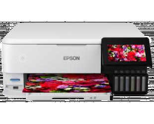 Rašalinis daugiafunkcinis spausdintuvas Epson Wireless Photo Printer EcoTank L8160 Colour, Inkjet, A4, Wi-Fi, Grey