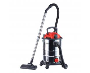 Dulkių siurblys Camry Professional industrial Vacuum cleaner CR 7045 Bagged, Wet suction, Power 3400 W, Dust capacity 25 L, Red/Silver