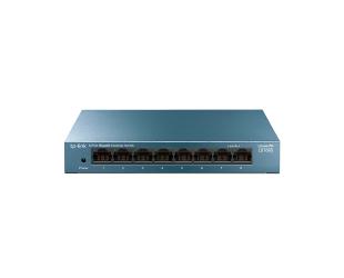Komutatorius TP-LINK 8-Port 10/100/1000Mbps Desktop Network Switch LS108G Unmanaged, Desktop