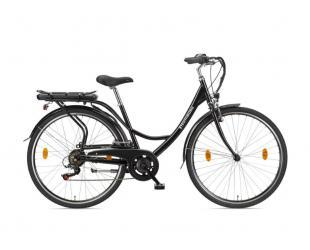 "Elektrinis dviratis Telefunken Senne, City, galia 250 W, ratų dydis 28 "", Black"