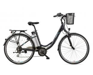 "Elektrinis dviratis Telefunken Multitalent RC860, City, galia 250 W, ratų dydis 28 "", Anthracite"
