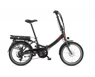 "Elektrinis dviratis Telefunken Kompakt F810, Folding, galia 250 W, ratų dydis 20 "", Anthracite"