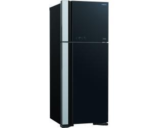 Šaldytuvas Hitachi Refrigerator R-VG541PRU0 (GBK) Energy efficiency class TBC, Free standing, Height 183.5 cm, No Frost system, Fridge net capacity 3