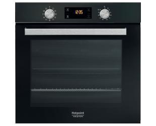 Orkaitė Hotpoint FA5 841 JH BL HA 71 L, Electric, Hydrolytic, Knobs and electronic, aukštis 59.5 cm, plotis 59.5 cm, Black