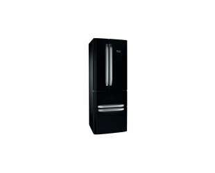 Šaldytuvas Hotpoint E4D B C1 energijos klasė F, Combi, aukštis 195.5 cm, No Frost system