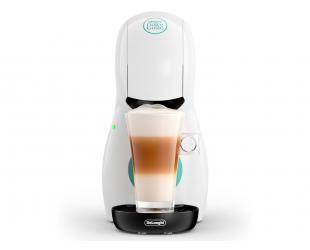 Kapsulinės kavos aparatas Delonghi Small XS EDG210.W Dolce Gusto kapsulėms, 15 bar, 1400 W, White