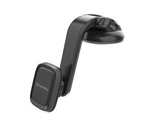 Laikiklis ColorWay Magnetic Car Holder For Smartphone Dashboard-2 Gray, Adjustable, 360 °