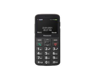 "Mobilus telefonas Panasonic KX-TU160 Black, 2.4 "", TFT-LCD, 240 x 320, USB version USB-C, Built-in camera, Main camera 0.3 MP"