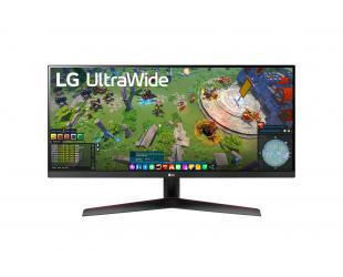"Monitorius LG UltraWide FreeSync Monitor 29WP60G-B 29 "", IPS, UltraWide FHD, 2560 x 1080 pixels, 21:9, 1 ms, 250 cd/m², Black, HDMI ports quantity 1"