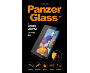 Ekrano apsauga PanzerGlass Samsung, Galaxy A21, Glass, Black, Case Friendly