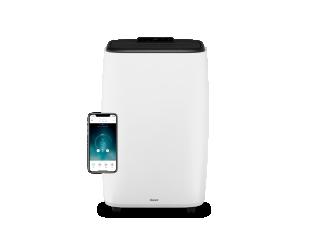 Oro kondicionierius Duux Smart Mobile Air Conditioner North Number of speeds 3, White, 14000 BTU/h
