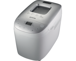 Duonkepė Gorenje BM1600WG Power 850 W, Number of programs 16, Display LCD, White/Silver
