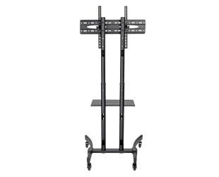 "Televizoriaus stovas Tripp lite Rolling TV/LCD Mounting Cart Rolling TV/LCD Mounting Cart DMCS3770L 37-70"", up to 40kg, laptop shelf up to 9.9kg,"