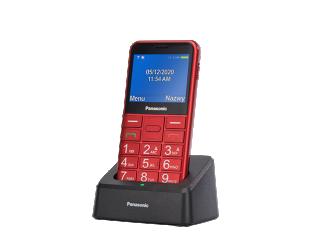 "Mobilus telefonas Panasonic KX-TU155EXBN Red, 2.4 "", TFT-LCD, microSD/microSDHC MB, USB version micro USB, Built-in camera, Main camera 0.3 MP"