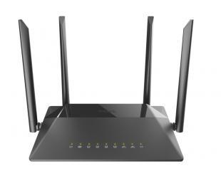 Maršrutizatorius D-Link Router DIR-842 802.11ac, 300+867 Mbit/s, 10/100/1000 Mbit/s, Ethernet LAN (RJ-45) ports 4, Mesh Support No, MU-MiMO Yes, No m